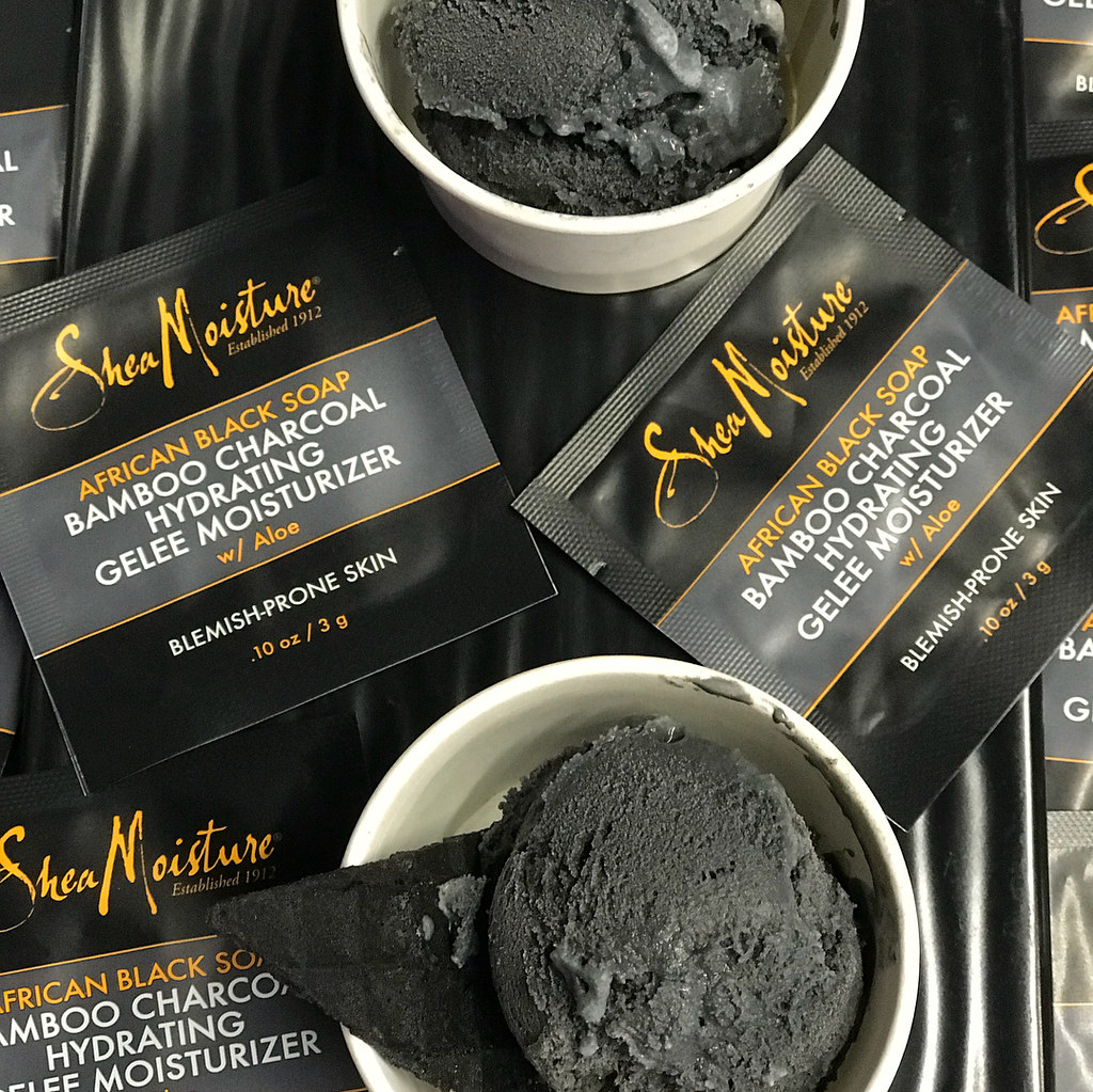 SheaMoisture African Black Soap Bamboo Charcoal Hydrating Gelee Moisturizer