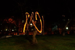 Fire Poi Flow Art
