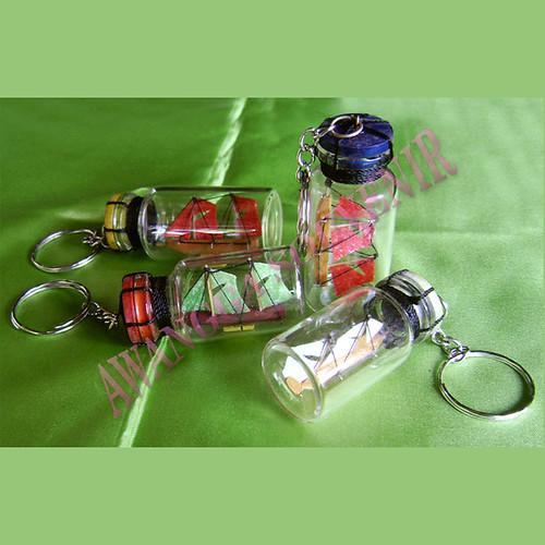 ganci Miniatur Kapal Botol