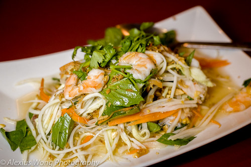 Shrimp Papaya Salad, Anh Dao, Washington DC