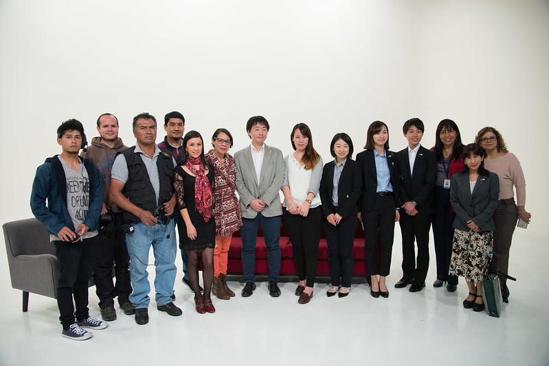 Visita de estudiantes japoneses a las instalaciones de CIESPAL
