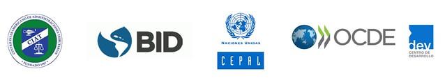 Logos Estadísticas Tributarias en América Latina y el Caribe