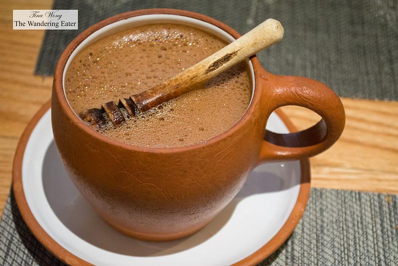 Oaxacan hot chocolate