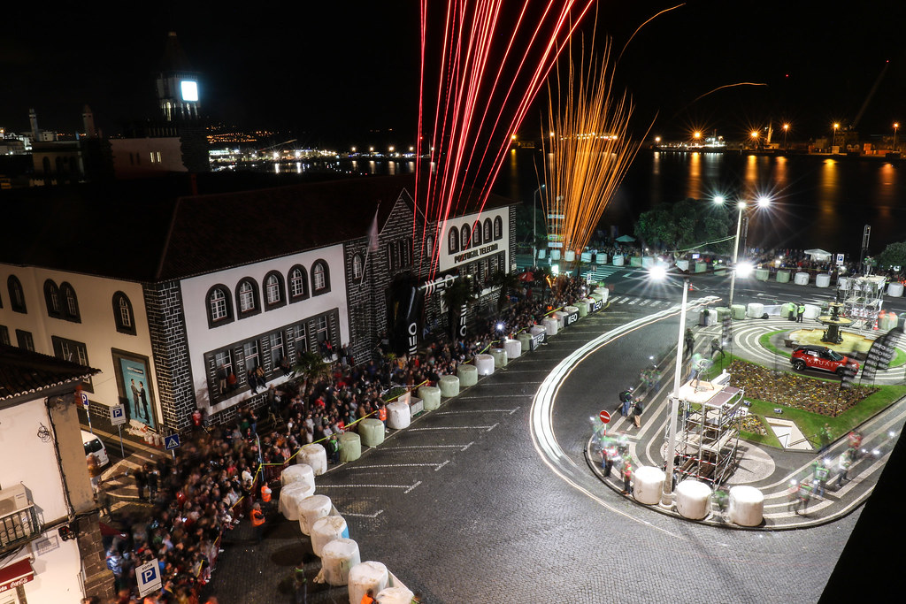 ambiance Ponta Delgada during the 2018 European Rally Championship ERC Azores rally,  from March 22 to 24, at Ponta Delgada Portugal - Photo Jorge Cunha / DPPI