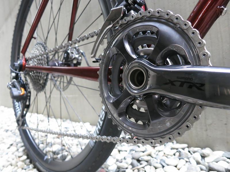 Corner Bikes Gravel XTR Crank
