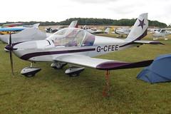 G-CFEE Evektor EV-97 (2008-3221) Popham 030808