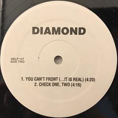 DIAMOND:DIAMOND JEWELZ(LABEL SIDE-B)