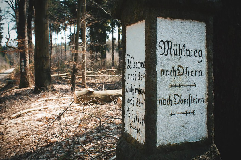 Luchsenburgwald, Schleißberg und Schwedenstein