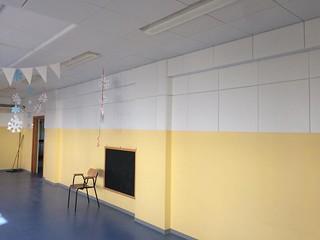 Polignano Scuola Pascali - Aula insonorizzata