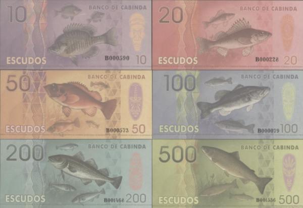 Cabinda 10-500 escudos 2014