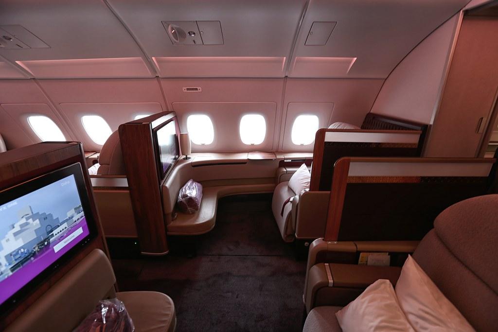 Qatar A380 First Class 13