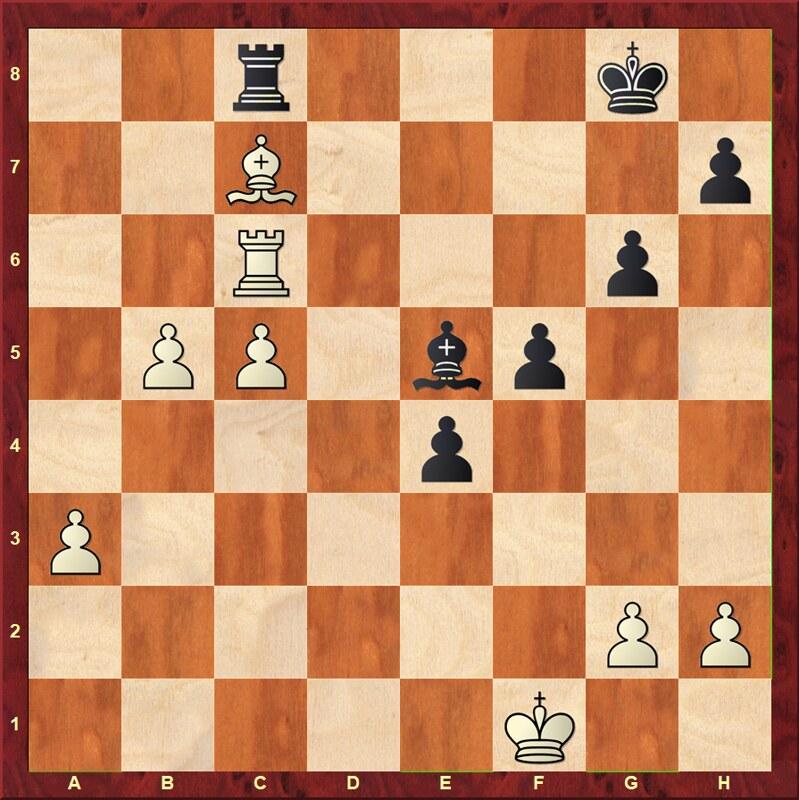 Stelling na 38. b4-b5