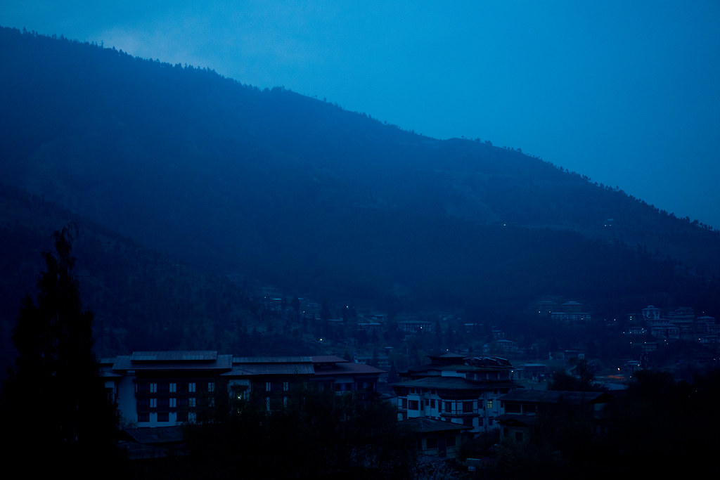 Thimphu at Dawn