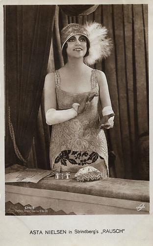 Asta Nielsen in Rausch (1919)