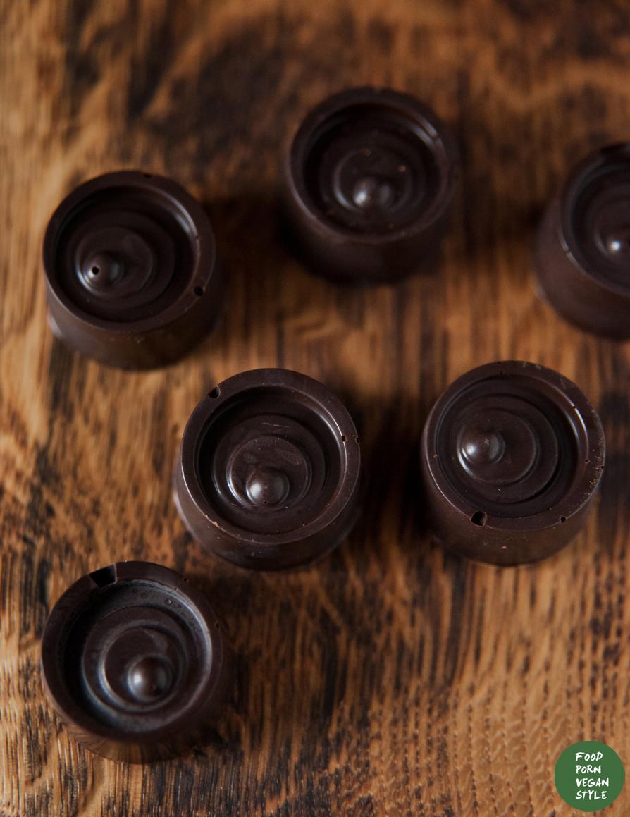 Peanut butter and jam pralines / Pralinki orzechowe i owocowe