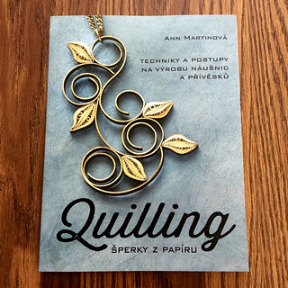 The Art of Quilling Paper Jewelry - Czech Book Cover