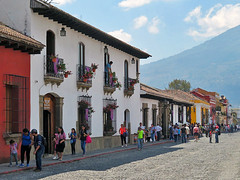 ANTIGUA, GUATEMALA - Calle del Arco/ АНТИГУА, ГВАТЕМАЛА - улица Арко