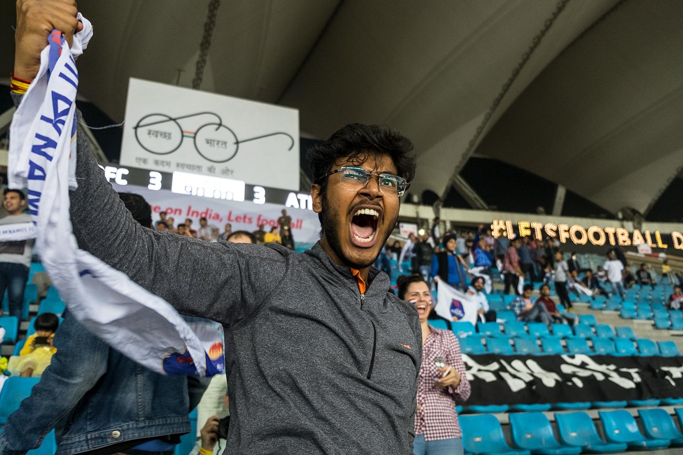 Индийский футбол, бессмысленный и беспощадный...