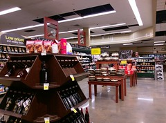 Pre-packaged cheeses, wines, and pies