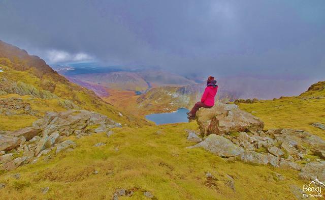 Cadair Idris walk - Snowdonia Wales