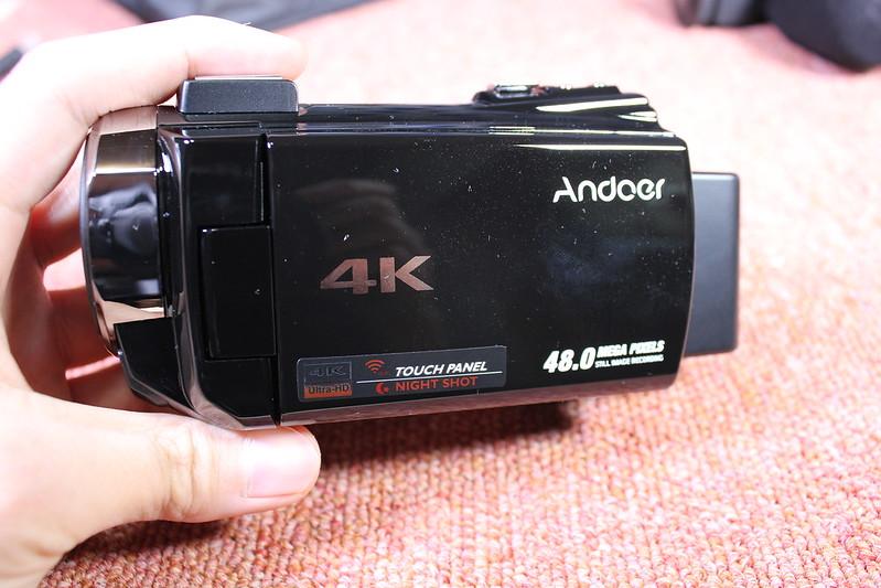 TOMTOP Andoer 4K ビデオカメラ 開封レビュー (52)