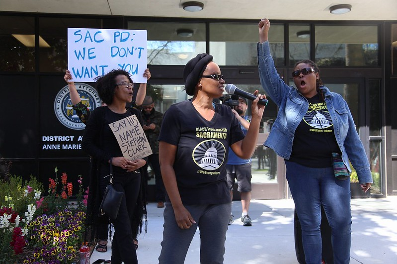 Stephon Clark Protest March 27, 2018