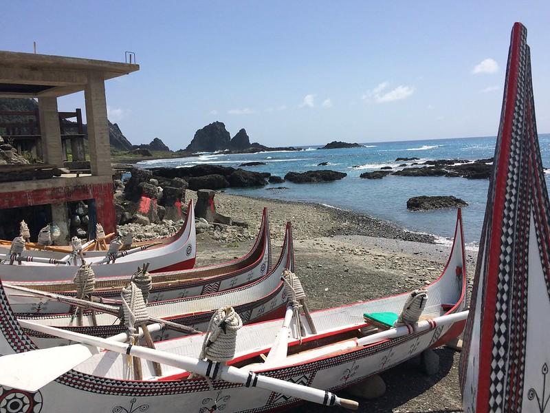 蘭嶼-拼板舟
