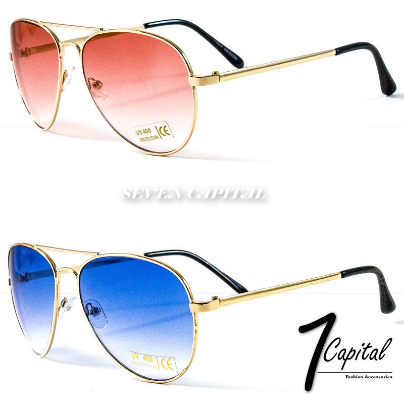 4f1d4ee381 Details about Womens Mens Retro Shades Aviator Metal Frame Designer Police Pilot  Sunglasses