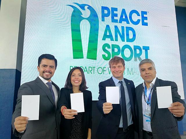 Guatemala mostró la White Card en el Día Internacional del Deporte para el Desarrollo y la Paz
