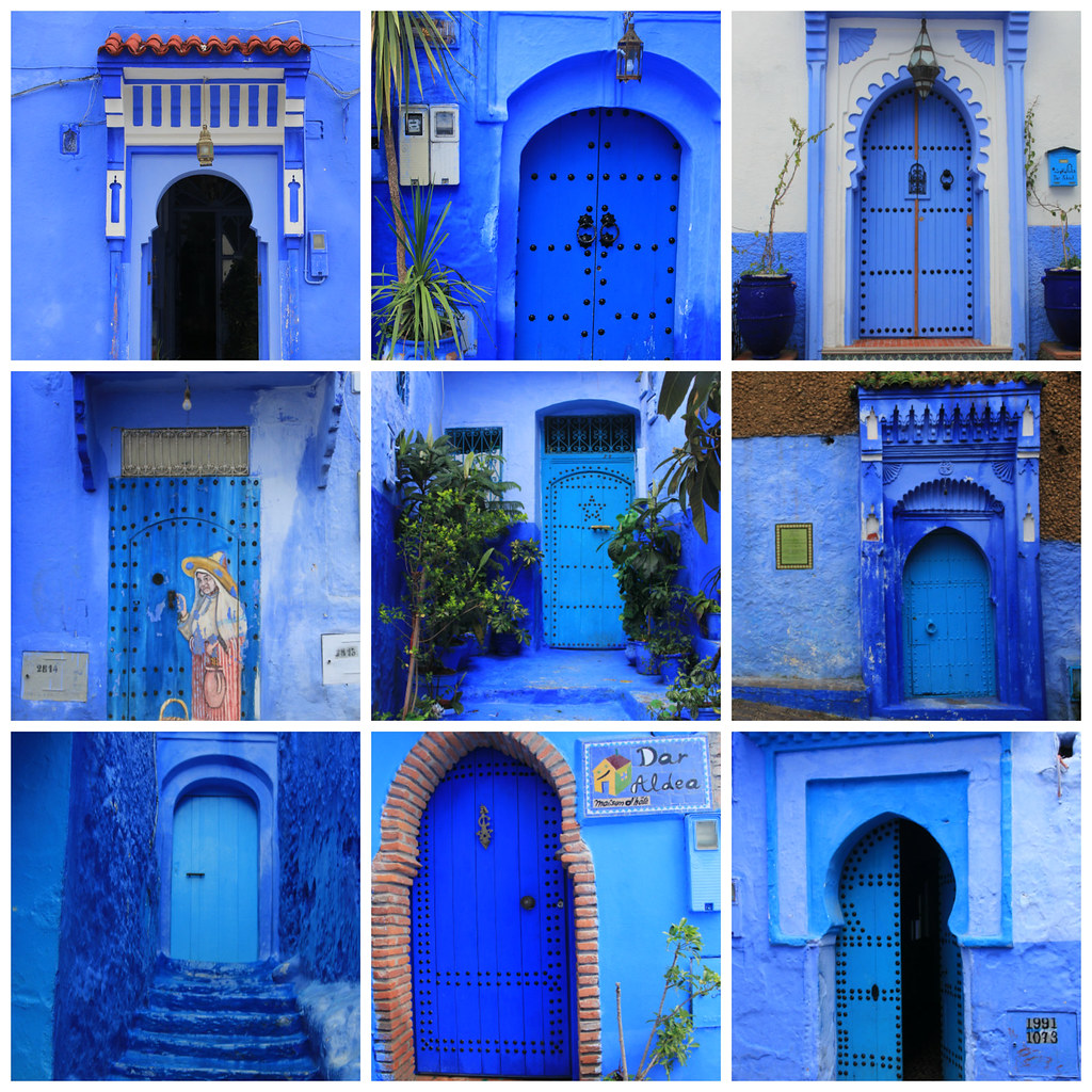 Doors of Chefchaouen