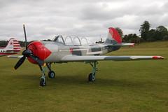 G-BVVA Yakovlev Yak-52 (877610) Popham 130909