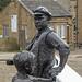 Lockkeeper statue, Sowerby Bridge
