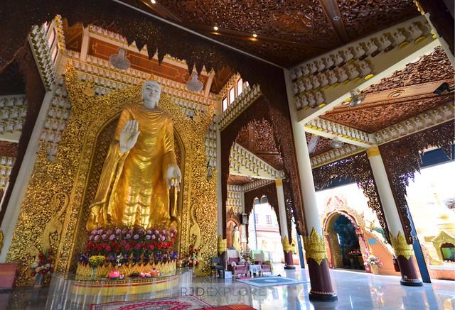 penang island itinerary travel guide Chu Phat Dhammikarama