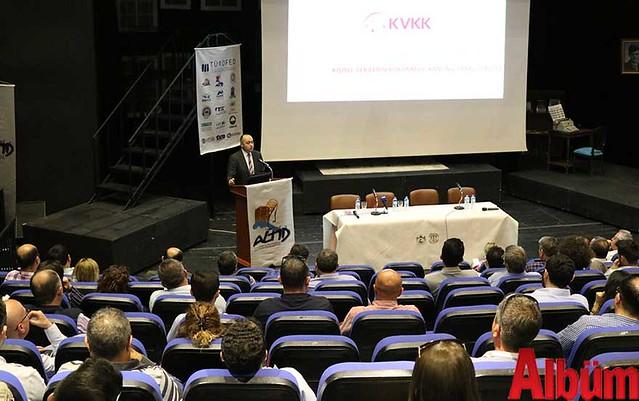 Kişisel Verileri Koruma Kurumu Daire Başkanı Mustafa Erbilli- Kişisel Verilerin Korunması Toplantısı-2