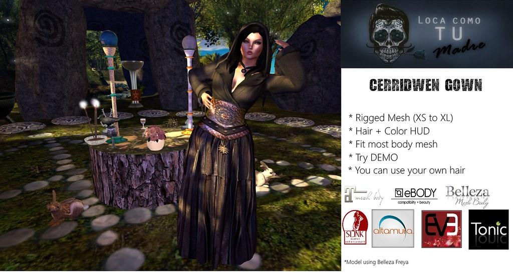 Cerridwen Gown - TeleportHub.com Live!