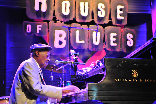 Henry Gray at WWOZ's 30th Annual Piano Night - April 30, 2018. Photo by Michael E. McAndrew Photography.