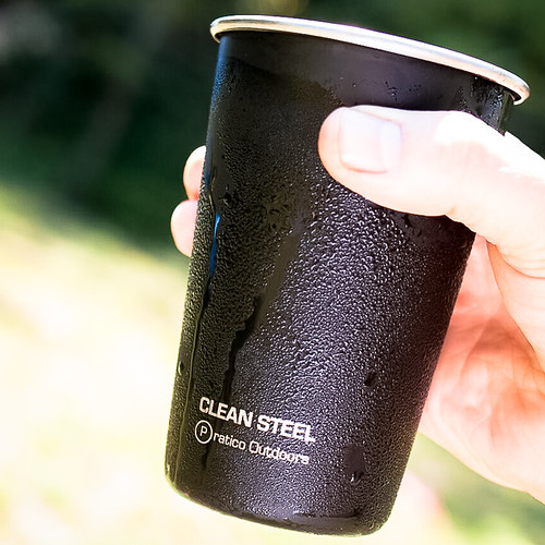 Clean Steel Stainless Cups
