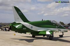 8820 - 6Y006 - Saudi Hawks - Royal Saudi Air Force - British Aerospace Hawk 65A - Luqa Malta 2017 - 170923 - Steven Gray - IMG_0065
