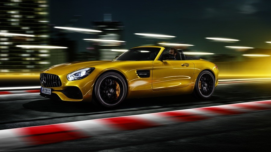 Mercedes-AMG GT S Roadster 4