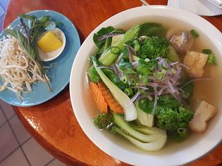 Vegan Pho at Eat Mii