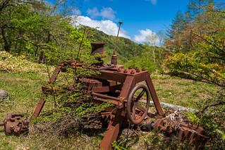 錆びた機械