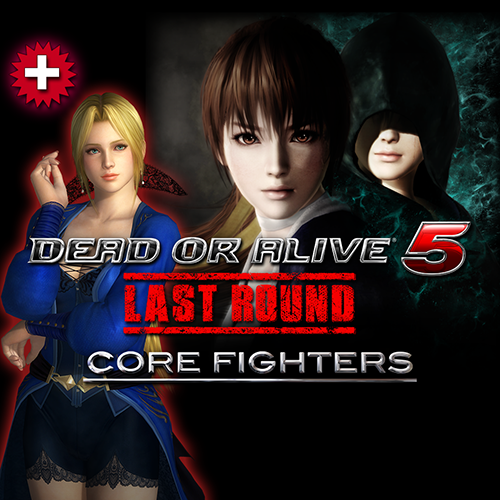 DOA5LR: Core Fighters + Nyotengu