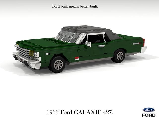 Ford Galaxie 1966 427 Hardtop