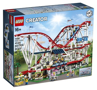 啊啊啊啊~~~ LEGO 10261 創意系列【雲霄飛車】Creator Expert Roller Coaster 夢幻登場!!
