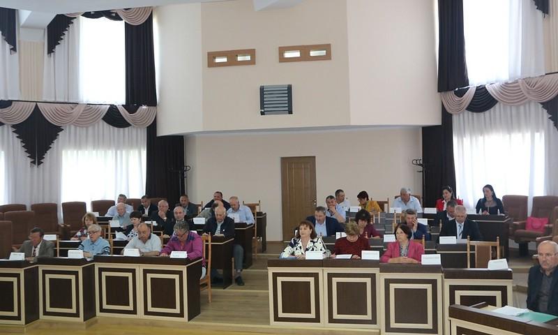 Ședința extraordinară a Consiliului Raional Leova. 26 aprilie2018