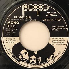 MARTHA HIGH:GEORGY GIRL(LABEL SIDE-B)