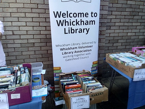 Whickham Library 2nd hand book sale May 18 (2)