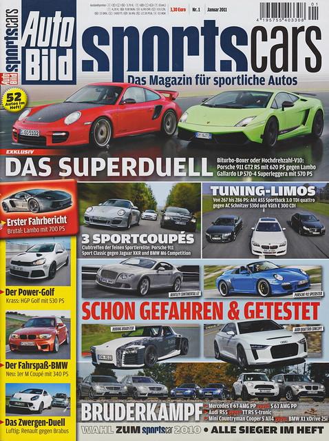 Auto Bild Sportscars 1/2011