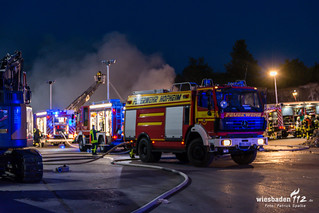 Feuer Deponie Flörsheim