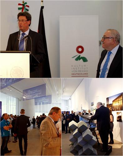 """México y Cemex inauguran """"innovation in concrete"""" en el Instituto Cultural de México en Alemania"""